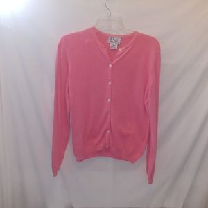 Lilly Pulitzer pink women's sweater Sz M